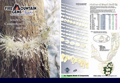 Jewelry Makers Catalog by Fire Mountain Gems, 2007-2008