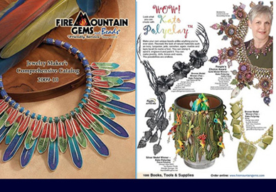 Jewelry Makers Catalog by Fire Mountain Gems, 2009-2010