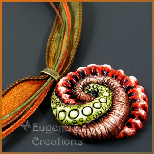 Polymer Clay Necklace Sea Creatures